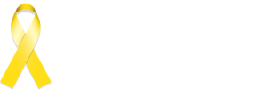 Never Again logo