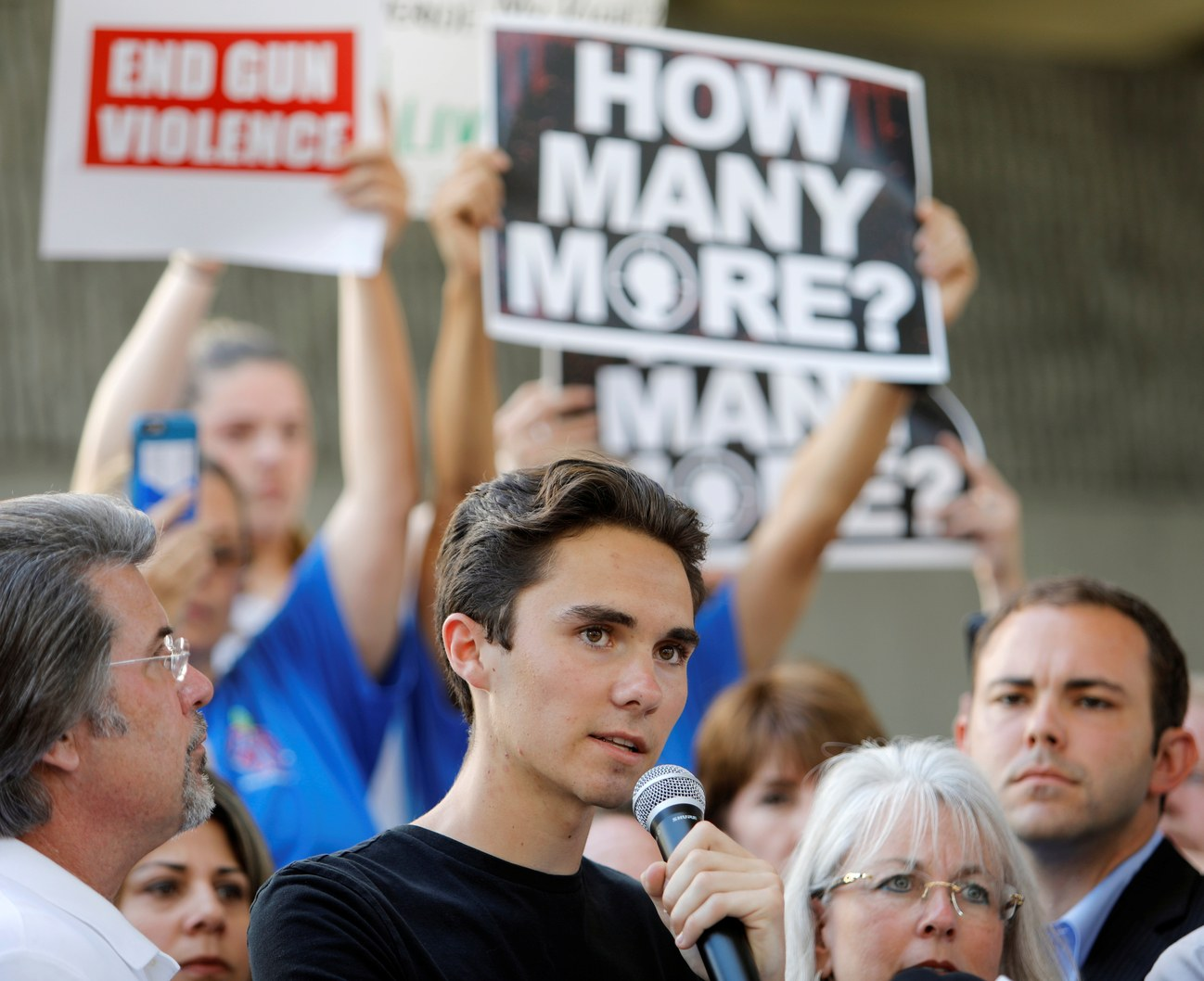 Photo Of David Hogg By Jonathan Drake : Reuters